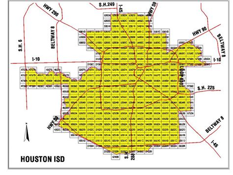 houston map by school district houston isd map houston area school district map