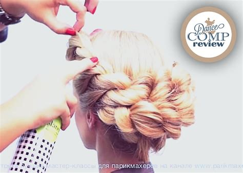 Competition Hairstyles by Ballroom Hairstyles For Hair