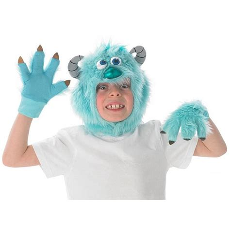 Disney Sulley disney sulley monsters university headpiece gloves