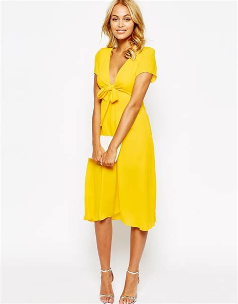 My Style Midi Dress bow front midi dress my style haves want and