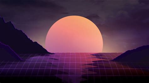 sunset retrowave wallpapers hd wallpapers id
