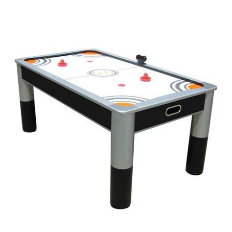 6 air hockey table 6 air powered hockey table