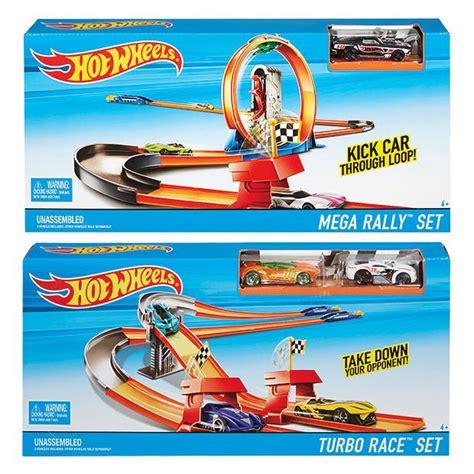 Wheels Track Mega Rally Set wheels race rally trackset assorted target australia