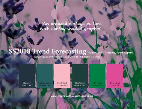 trends springsummer fashion colour forecast ss 2018 spring summer 2018 trend forecasting is a trend color