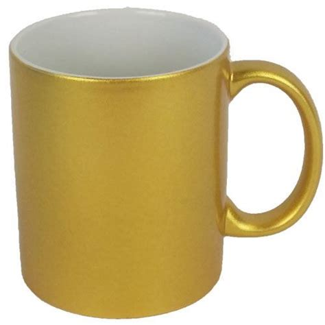 gold coffee mug dye sublimation metallic gold coffee mug 11oz