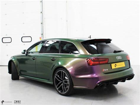 Audi Vario by Audi Rs6 Hexis Vario Chrome Personal Vehicle Wrap Project