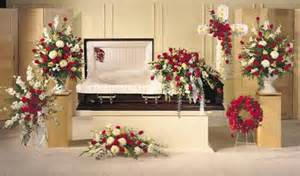 floral funeral home funeral flower arrangements