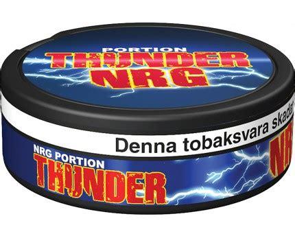 Thunder Nrg Portion Swedish Snus 1 Can thunder nrg portion buy swedish snus from mysnus shop