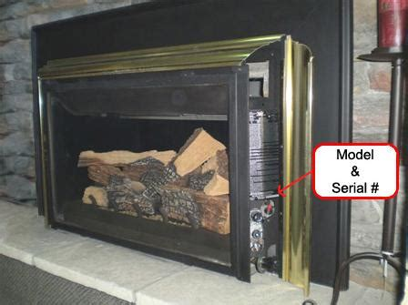 Fireplace Serial Number by Propane Gas Fireplace Inserts Recalled By Wolf Steel Due To Laceration Hazard Cpsc Gov