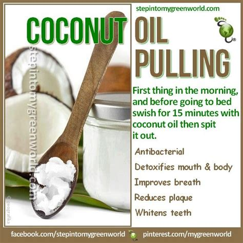 Detox Effects Of Coconut Pulling 1000 images about pulling detox on health