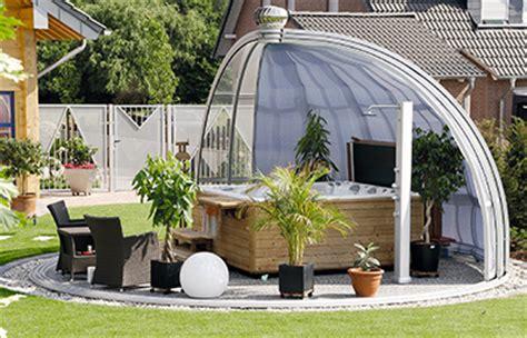 runde pavillons alu pavillon mit glasdach dm41 hitoiro