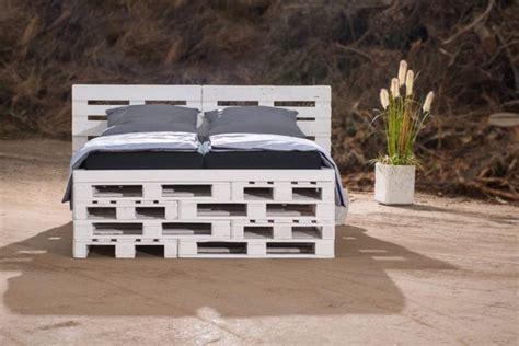 palletten bett paletten bett reciclando palets y cajas de madera