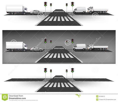 green light driving green traffic lights royalty free stock image