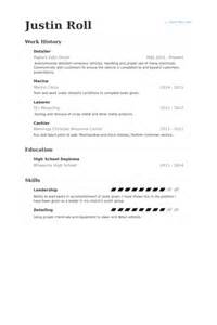 detailer resume samples visualcv resume samples database
