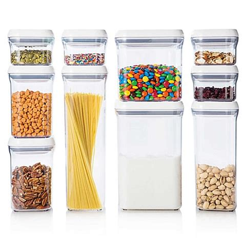 Best Food Storage Collection Azalea Snack Container Set Of 3 oxo grips 174 10 food storage pop container set
