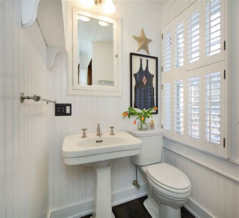 beadboard bathroom ideas beadboard bathroom with coastal decor coastal cottage