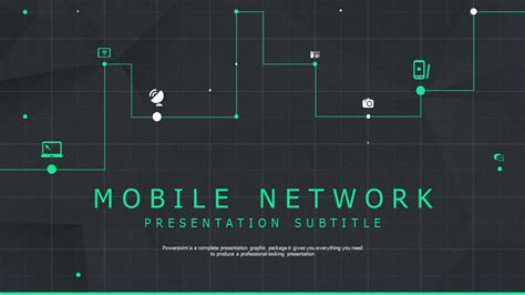 template powerpoint for network network powerpoint template wide goodpello
