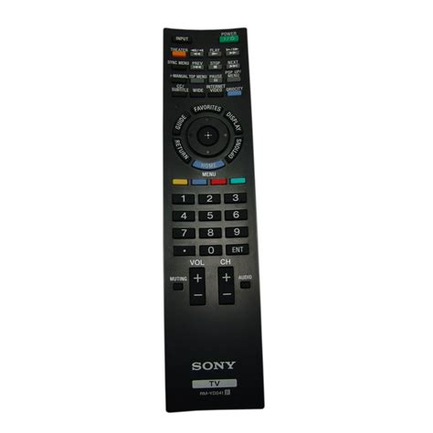 sony tv l replacement sony replacement rm yd034 remote control for kdl 46ex501