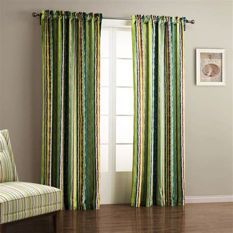 Brown And Green Curtains Decoration Ideas Inspiring Home Interior Window Decor Idea With Green Curtains Combine With Cozy