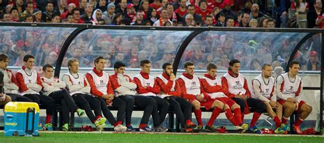 players bench colorado melbourne victory 0 liverpool fc 2 at the mcg liverpool echo