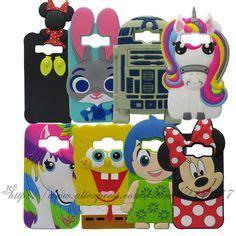 Samsung Galaxy J1 Ace 3d Stitch 4 Soft Silicon 3d samsung j1 j5 j7 despicable me 2 minions cases