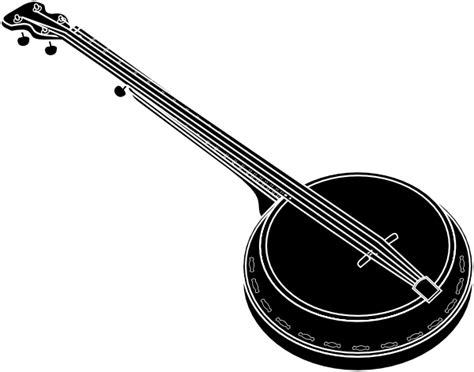banjo clip black banjo clip at clker vector clip