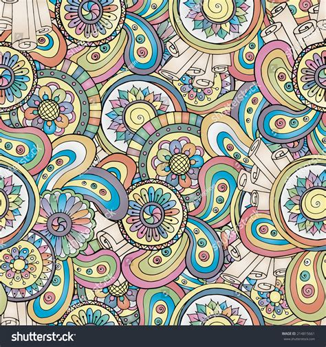 editor design pattern seamless asian floral retro background pattern in henna