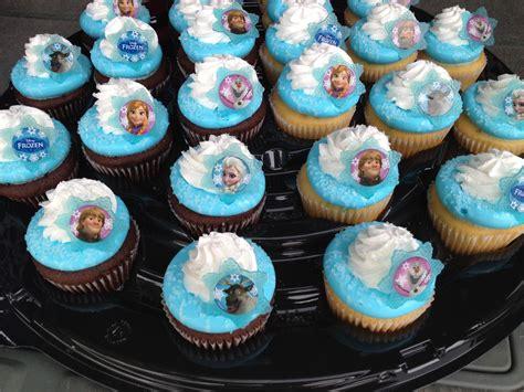 disney frozen cupcakes  walmart lets party frozen birthday cake frozen cupcakes