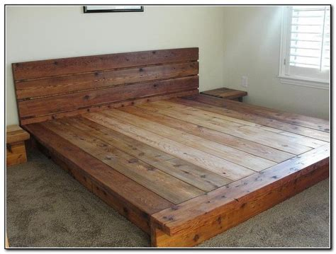 homemade bed frame ideas best 25 diy platform bed ideas on pinterest diy