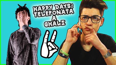 happy days testo ghali happy days telefonata a ghali