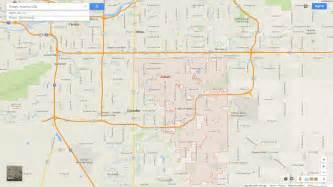 Map Of Gilbert Arizona by Gilbert Arizona Map