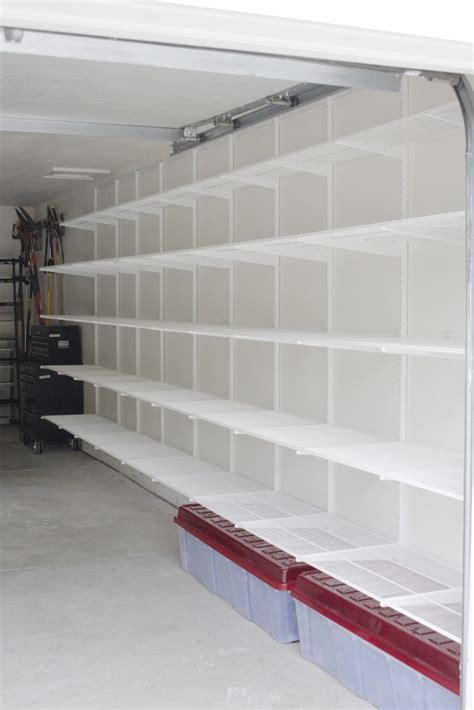 an incredibly organized garage smart storage storage