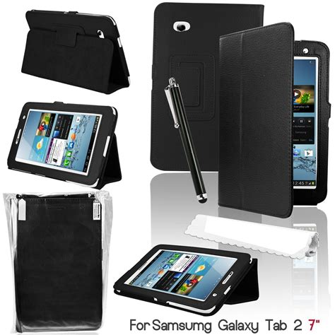 Flip Cover Samsung Tab 2 7 0 samsung galaxy tab 2 7 0 leather cover and flip stand