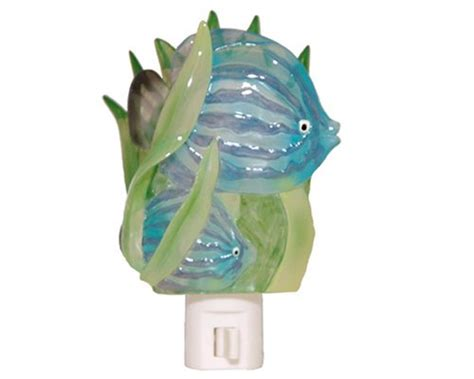 tropical fish bathroom decor kids bathroom decor tropical fish nightlight mariner