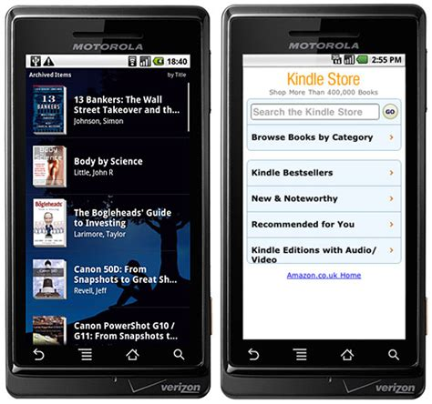 android kindle app android kindle app updated with voice searching and notes