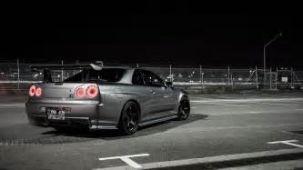 Nissan Gtr 34 Nissan Skyline Gtr R34 Wallpapers Wallpaper Cave