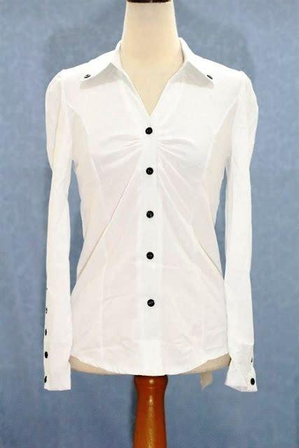 Celana Panjang Putih Bahan Semi Mlxlxxlxxxl 1 30 model kemeja putih wanita kasual terbaru 2018 keren