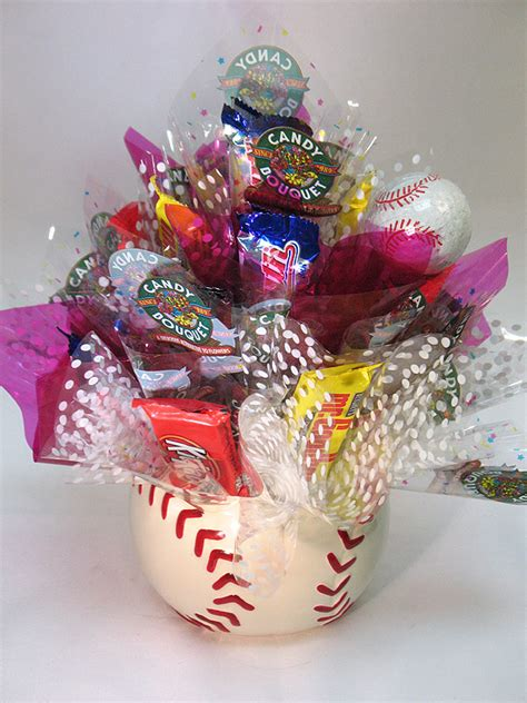 gifts to eat baseball bouquet sweet to eat gifts