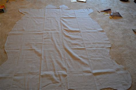 dropcloth rug drop cloth zebra rug whats ur home story