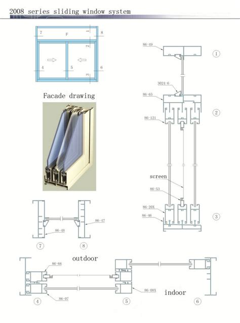 aluminium sliding window sections aluminum doors parts andersen perma shield gliding patio