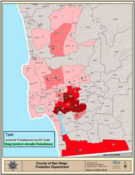 california gangs map the scope of san diego s problem voice of san diego