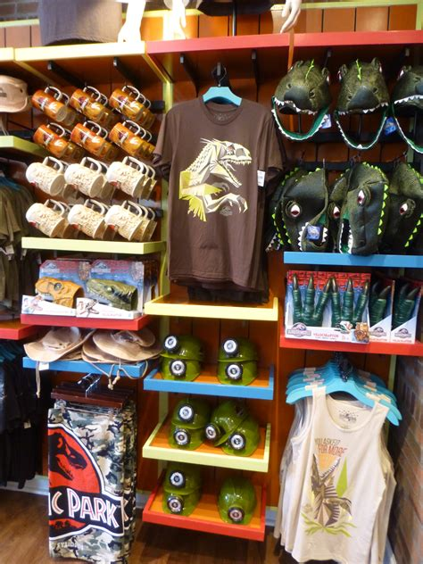 universal gifts jurassic world merchandise comes to the film vault at