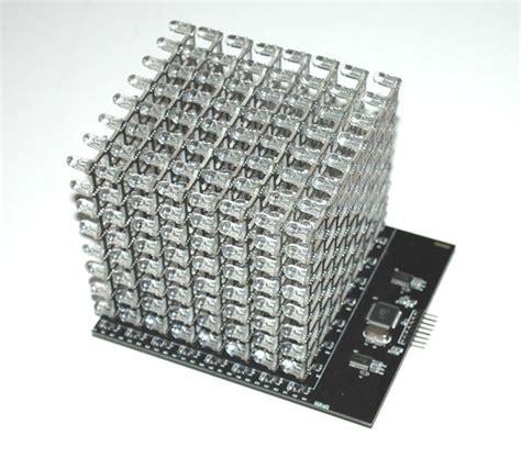code arduino led cube 8x8x8 rgb led cube shield linksprite