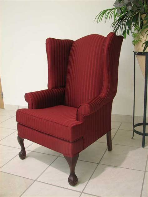 Wing Back by Wing Back Chairs Blue Reanimators