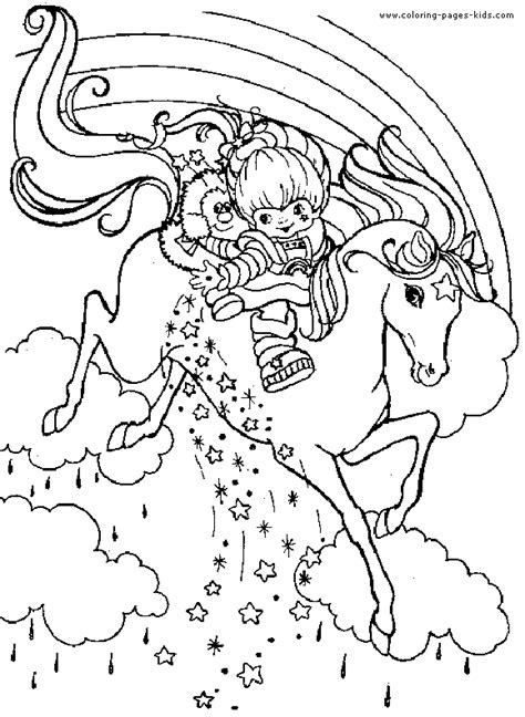 coloring page unicorn rainbow rainbow and unicorn coloring pages pictures to pin on
