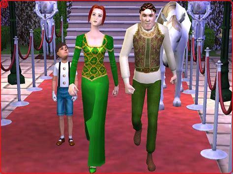 Gamis Fiona mod the sims shrek and fiona human form from shrek2