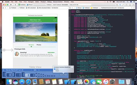 design app with xcode how to make an app from design to development