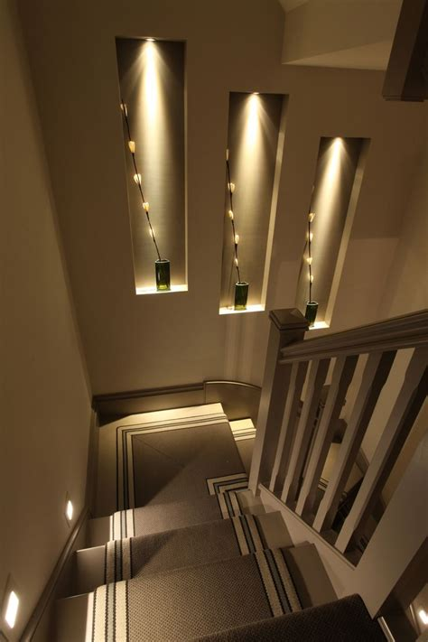 interior stairway lighting ideas best 25 stair lighting ideas on staircase