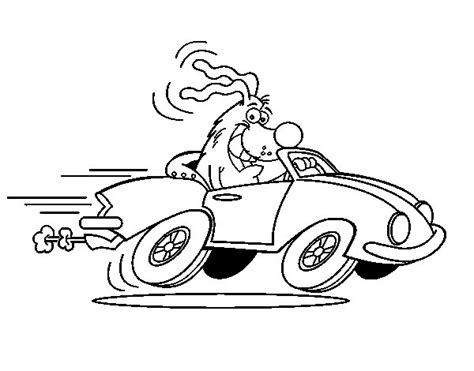 coloring pages of convertible cars free coloring pages of convertible car