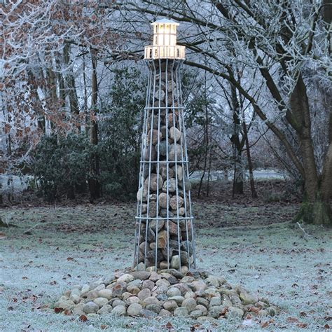 garten leuchtturm leuchtturm 180cm verzinkt